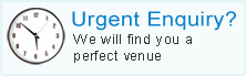 Urgent Enquiry? We will find you a perfect venue