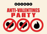 Bounce team up with Tinder for Anti-Valentine's Party