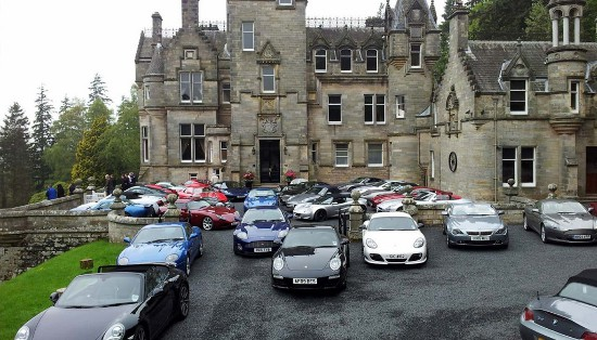 Kinnettles Castle launch