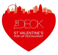 The Deck pop-up Valentine's Day restaurant